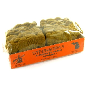 Steenstra's Almond St. Claus Cookies