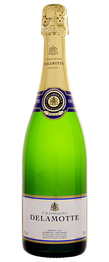 Delamotte Champagne Best in New York Times