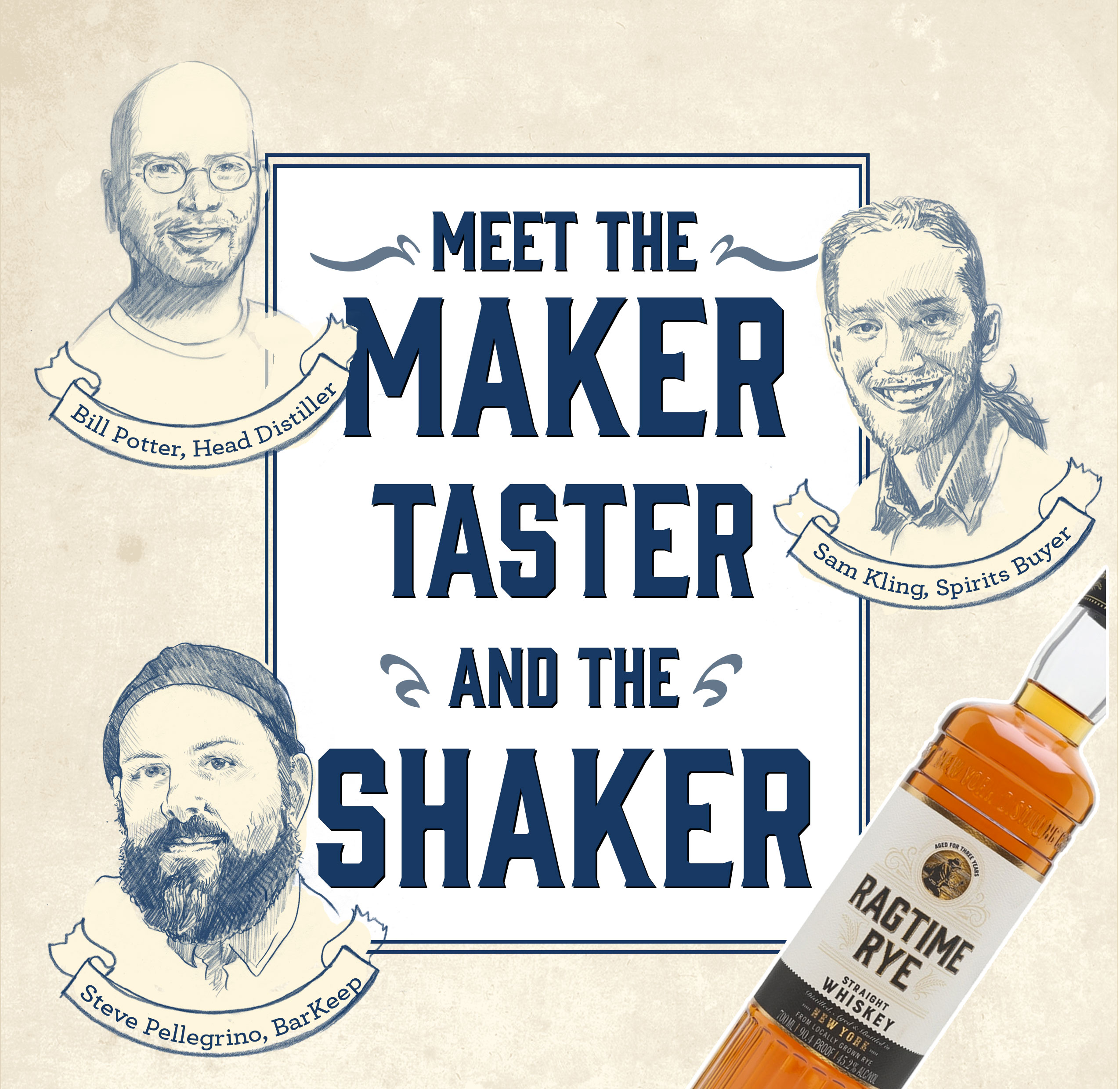 Meet The Maker, The Taster, and The Shaker!