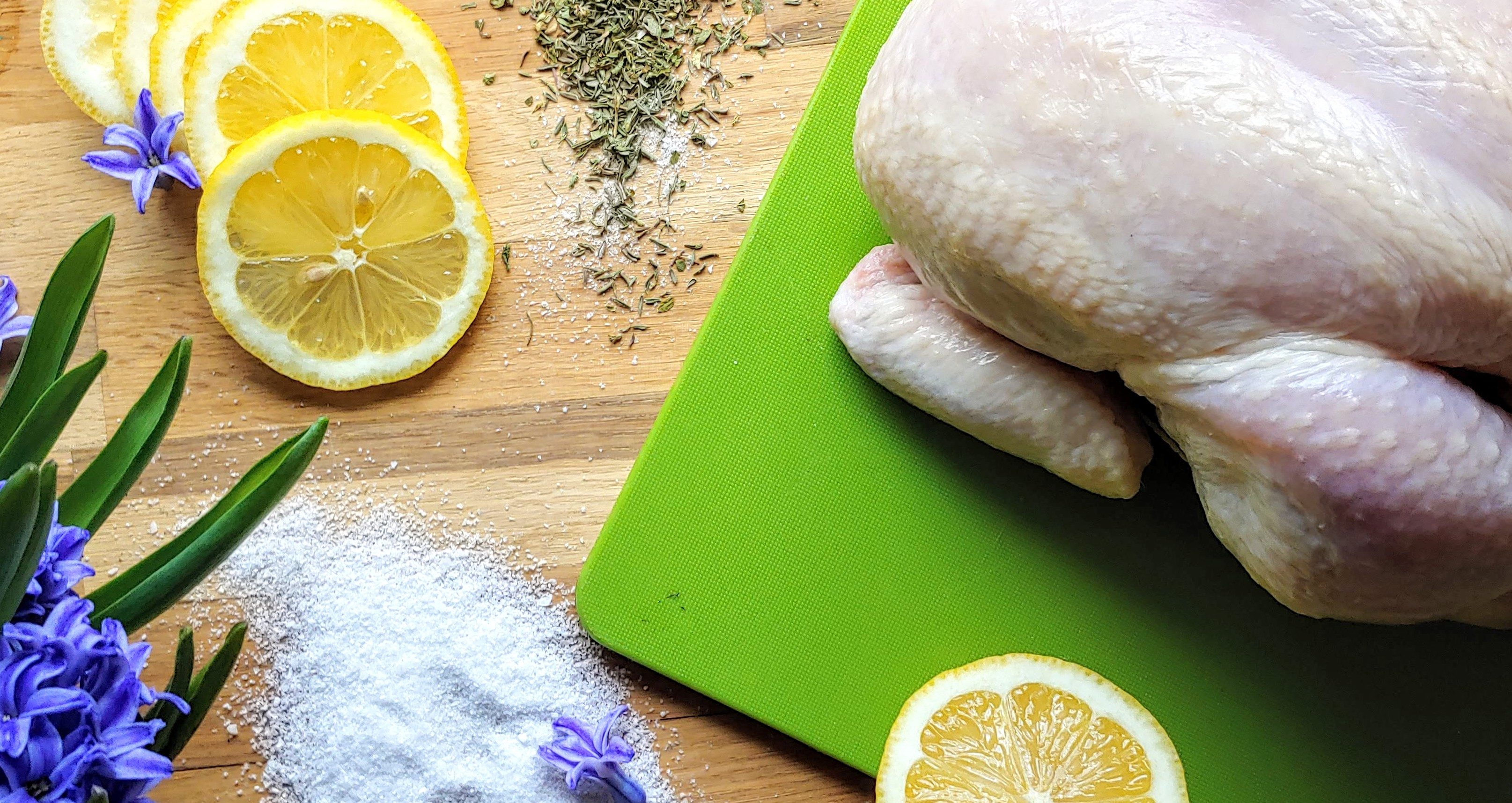 Dry Rub Lemon Herb Chicken