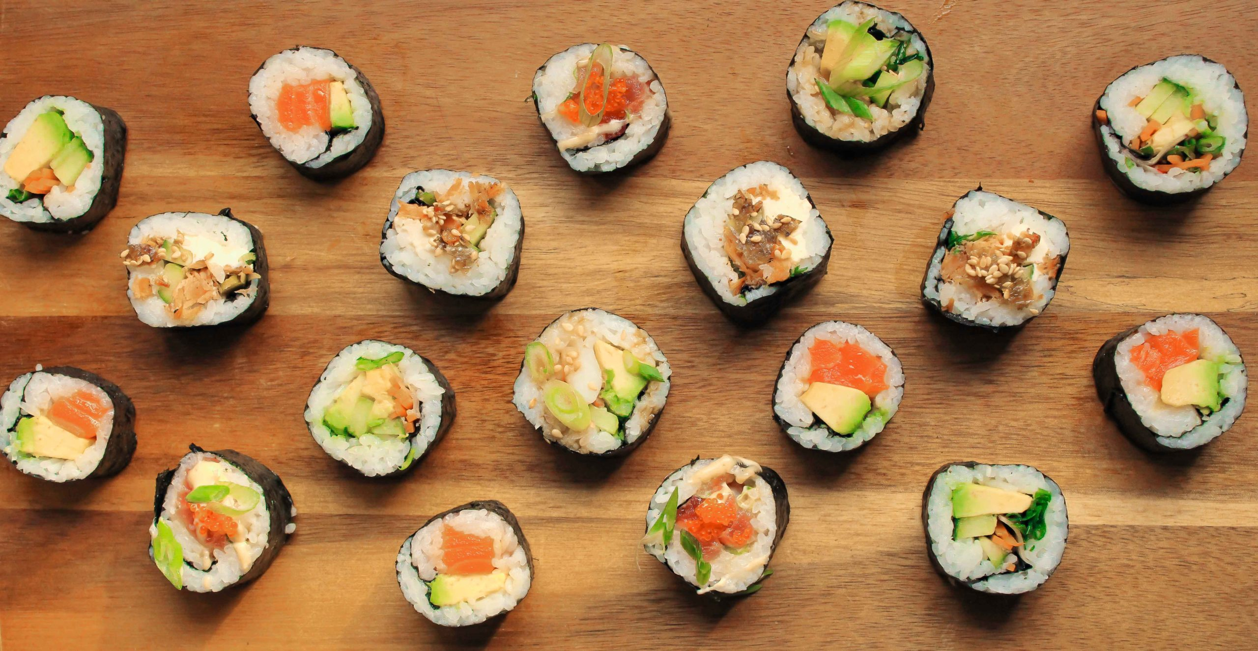We're On A Roll: House Made Sushi
